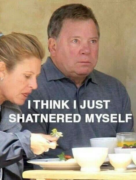 William Shatner. Star Trek. Kirk Shat. | Funny pictures ...