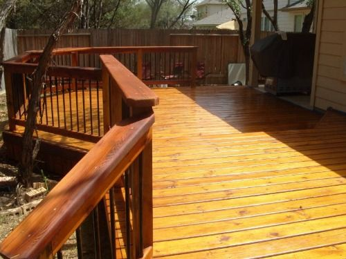 23 best Stained decks images on Pinterest   Stained decks, Deck ...