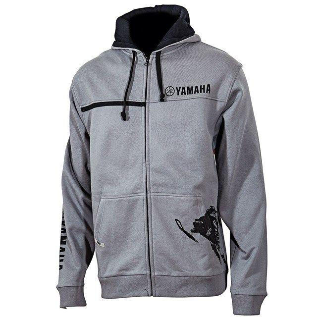 Yamaha Snowmobile Racing Zip Hooded Sweatshirt by FXR - Google Search