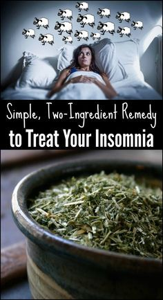 Simple, Two-Ingredient Remedy to Treat Your Insomnia, wormwood and acv