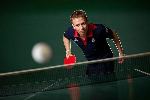 """I Am..."" an Olympic Table Tennis Player by Richard Pardon | Photographer, via Flickr"