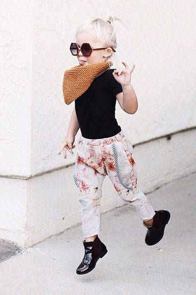 designer t shirts 10 Stylish Kids On Instagram   Fashionable Baby Bloggers