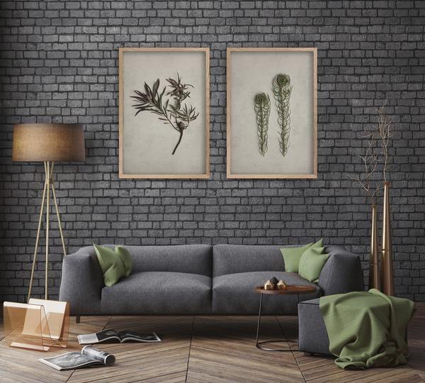Two Large Fynbos prints - 2x 60x90cm prints (Monochrome)