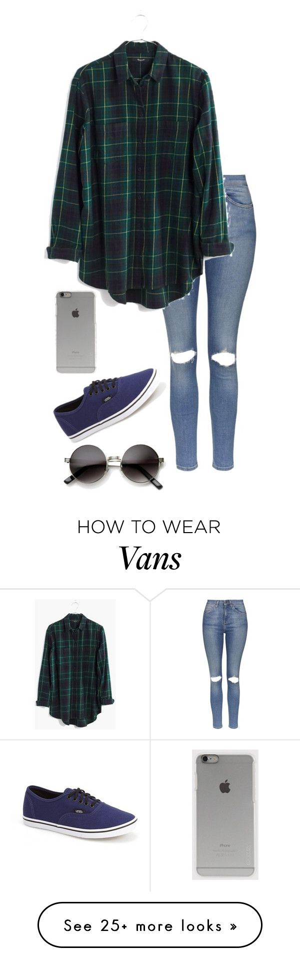 """Untitled #536"" by batgirl-373 on Polyvore featuring Topshop, Madewell, Vans and Incase"