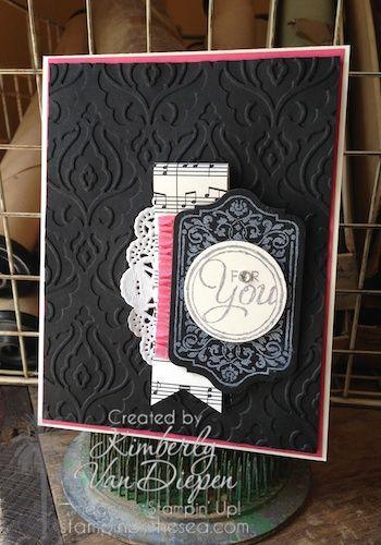 Chalk Talk Stamp set Kimberly Van Diepen, Stampin' Up! DIY