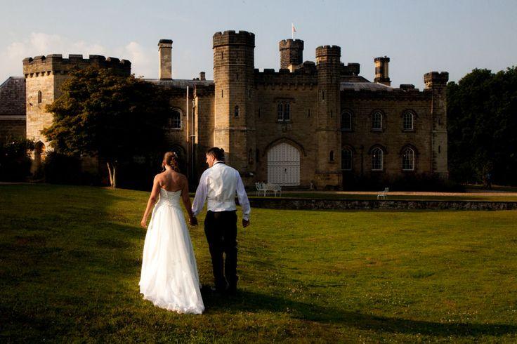 stunning castle - stunning couple