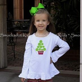 Smockadot Kids Flash Sales...another cute Christmas tree shirt