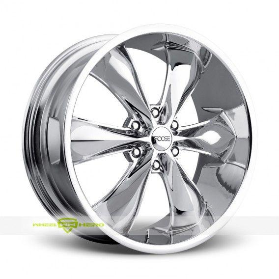 Foose Legend Six Chrome Wheels For Sale & Foose Legend Six Rims And Tires