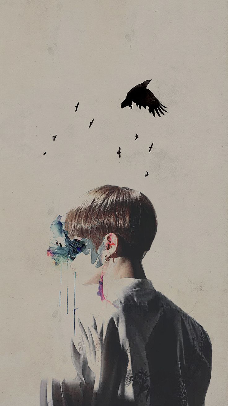 Jungkook Wallpaper wings