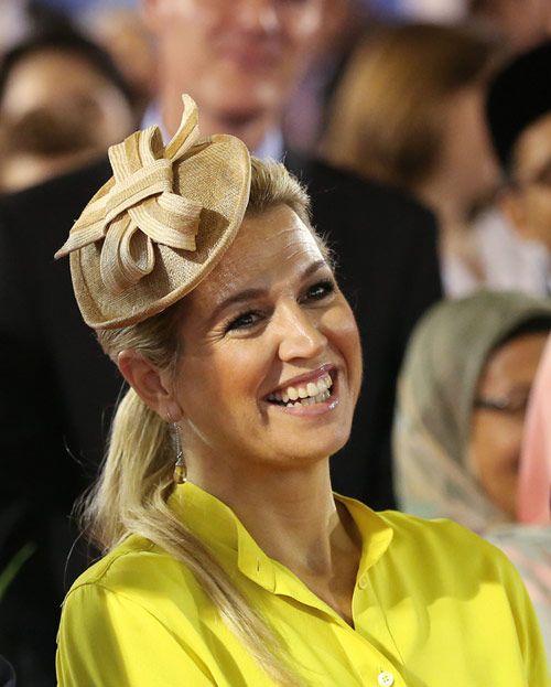 Máxima de Holanda, un sol radiante en Brunéi #royals #realeza #royalty #princesas #netherlands #princess