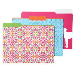 The Container Store > Parker Letter-Size Interior File Folders