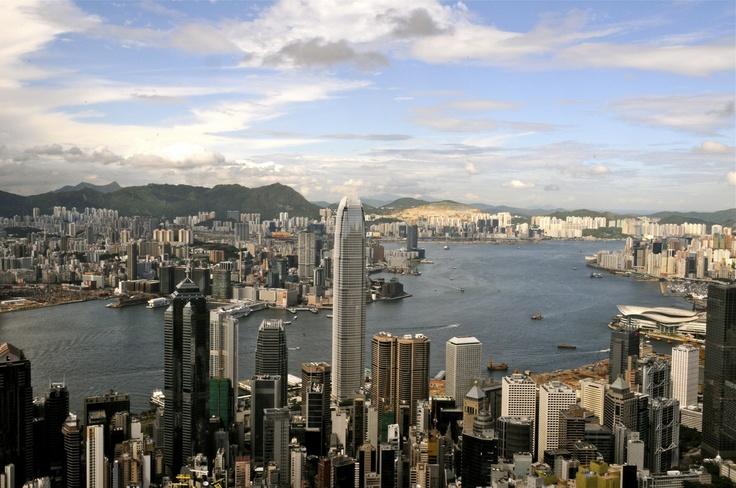 Beautiful day in Hong Kong