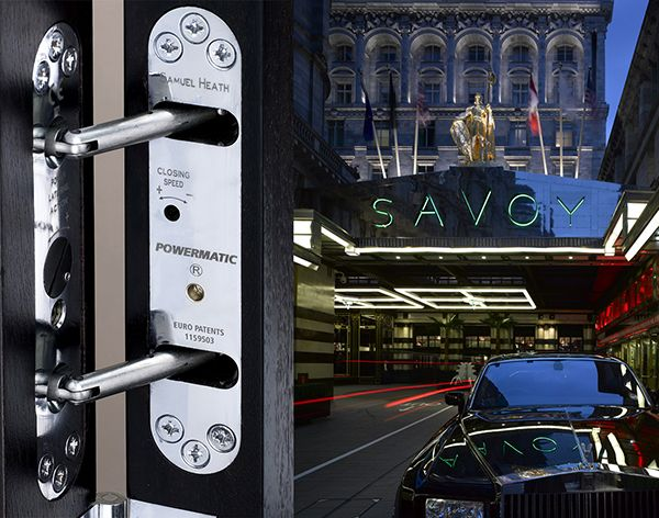 Powermatic controlled concealed door closers enhance looks sound insulation Savoy hotel & 87 best ARCHITECTURE - FIXTURES / FITTINGS images on Pinterest ... pezcame.com