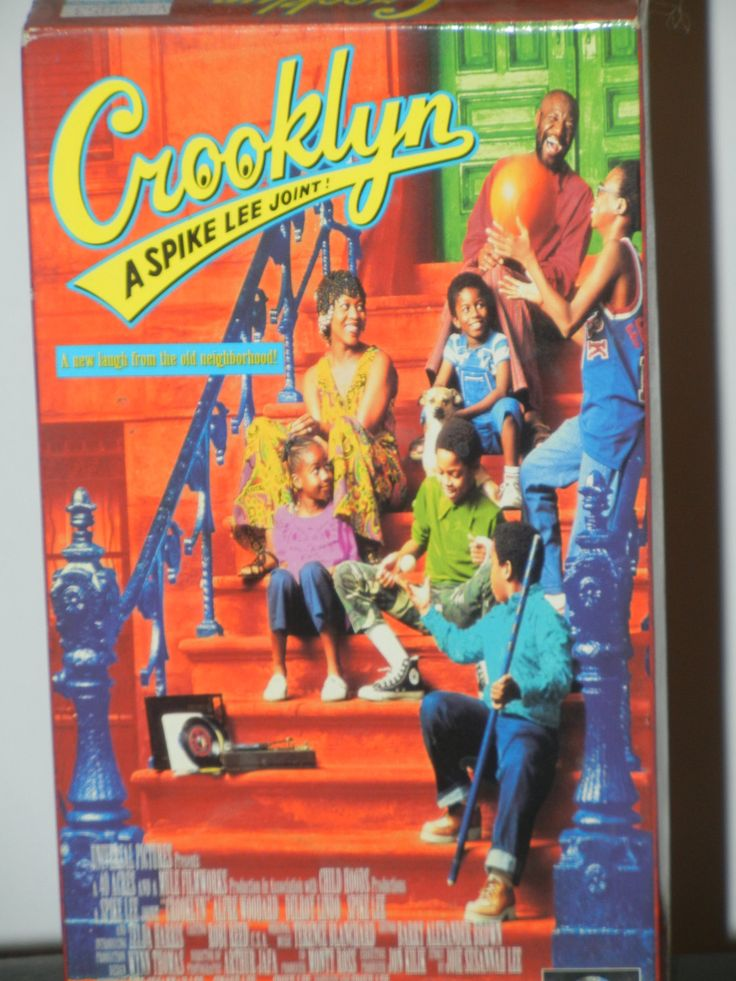 Crooklyn A Spike Lee Joint VHS Movie Starring Alfre Woodard Delroy Lindo Spike Lee Zelda Harris Isaiah Washington RuPaul Vondie Curtis-Hall by GailsPopCycle on Etsy