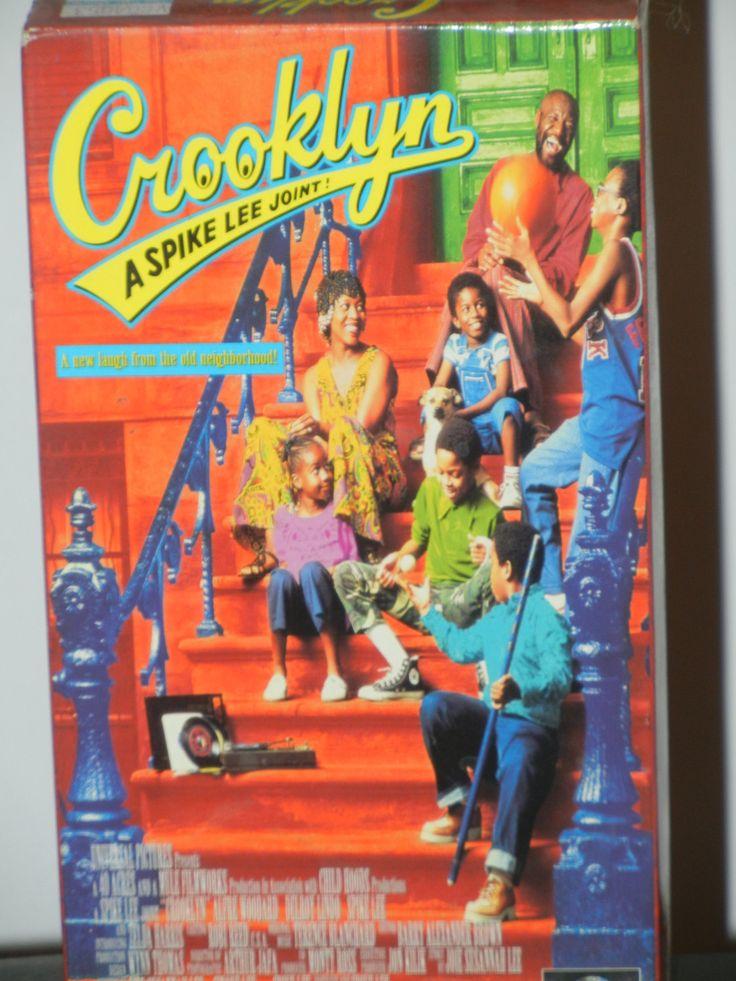 Crooklyn A Spike Lee Joint VHS Movie Starring Alfre Woodard Delroy Lindo Spike Lee Zelda Harris Isaiah Washington RuPaul Vondie Curtis-Hall by GailsPopCycle on Etsy