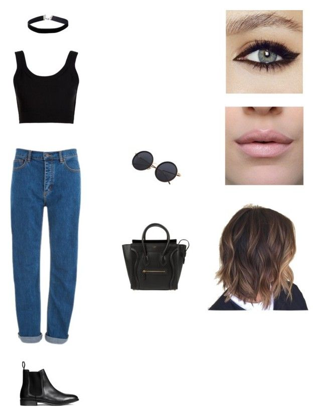 """Untitled #1"" by aasti3638 on Polyvore featuring Calvin Klein Collection, Marc Jacobs, CÉLINE and Miss Selfridge"
