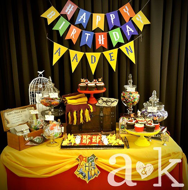 15 Best Images About A K Lolly Buffet Harry Potter 1st