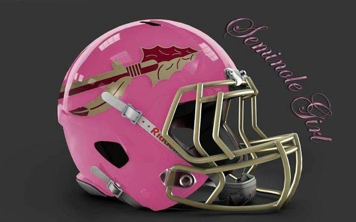 Seminole Girl - PINK Helmet #FSU