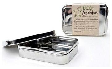 Eco Lunch Box Solo Rectangle contemporary-lunch-boxes-and-totes