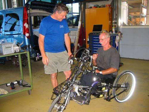 Rollstuhl-E-Bike