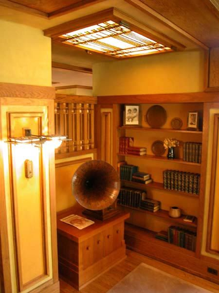 isabel roberts  home by frank lloyd wright   Фрэнк Ллойд Райт (Frank Lloyd Wright): Meyer May House ...