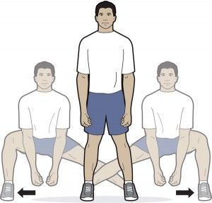 Exercises to strengthen and stretch your knees