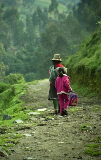 Trekking på Inkastien i Peru