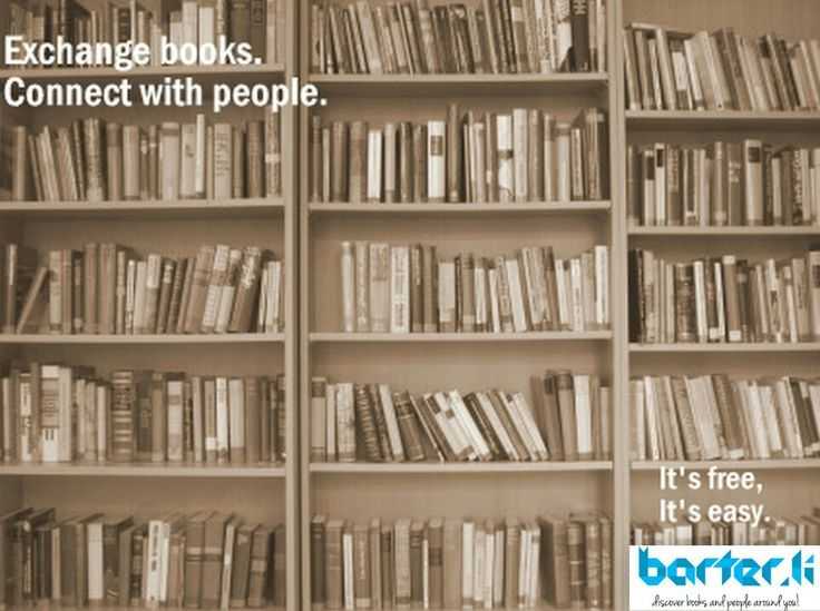 Sharing books has never been this easy! Download the app and experience it yourself