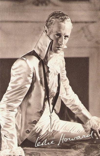 Leslie Howard as The Scarlet Pimpernel by Truus, Bob & Jan too!, via Flickr