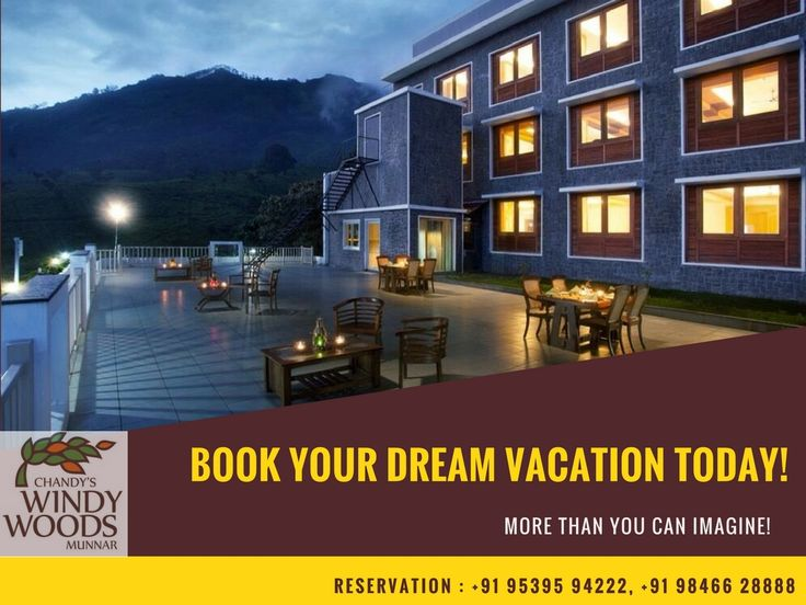 Book Your Dream Vacation Today! Chandy's Windy Woods, the best resorts in Munnar!