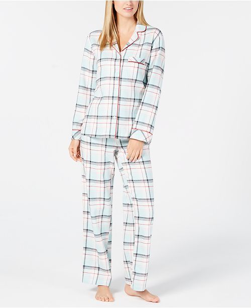565102c405 Macy s Women s Petitte Flannel PJ-plaid- 26.24