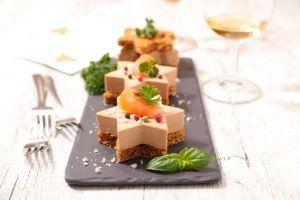 vin et foie gras