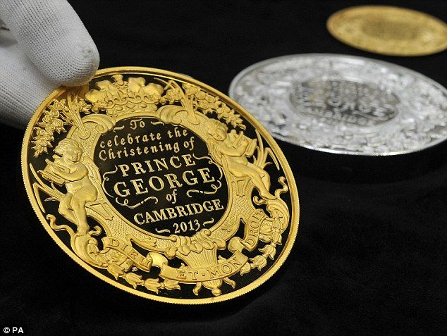 The coins were approved by the Duke and Duchess of Cambridge, Her Majesty the Queen and the Chancellor of the Exchequer