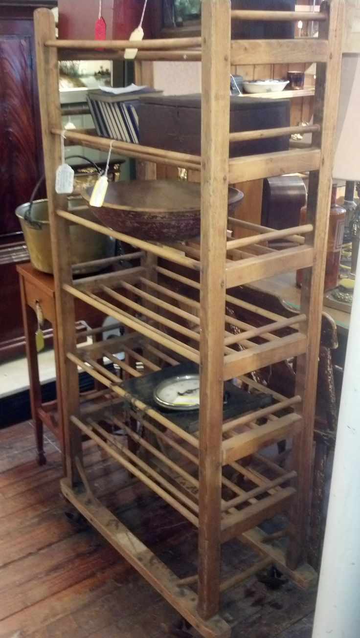 Vintage Bakers Rack Antique Furniture In 2019 Bakers