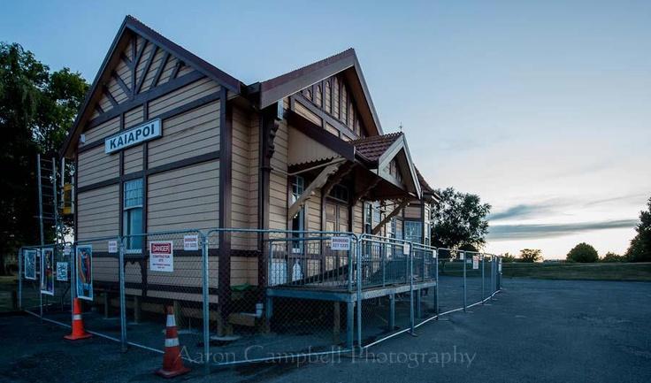 The Old Kaiapoi Railway Station