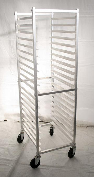 A soap studio would be incomplete without a bakers rack to cure soaps in...http://www.barcompany.com/Bakers%2520Rack.jpg