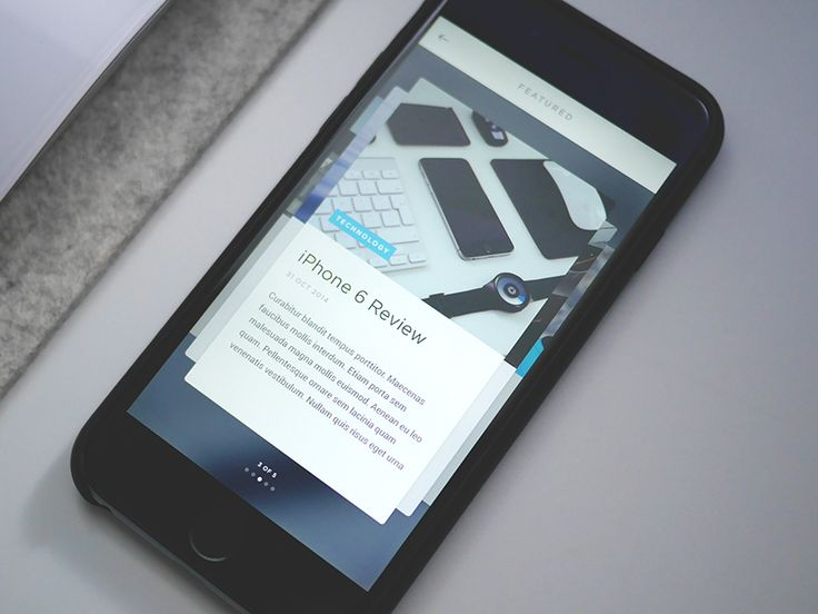 Article Cards App by UltraLinx