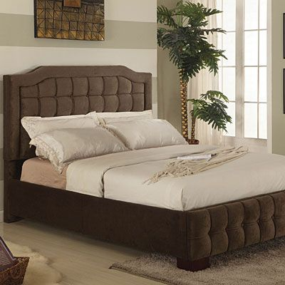 Upholstered Queen Bed At Big Lots Heavy And Sturdy This