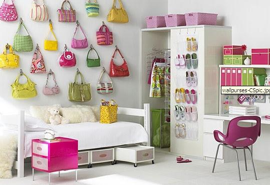 BLOG DE DECORAÇÃO-PUXE A CADEIRA E SENTE! : Idéia Linda de decoração para quarto de menina