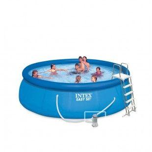 Kit piscine autoportante INTEX Easy Set 4.57 x 1.22M