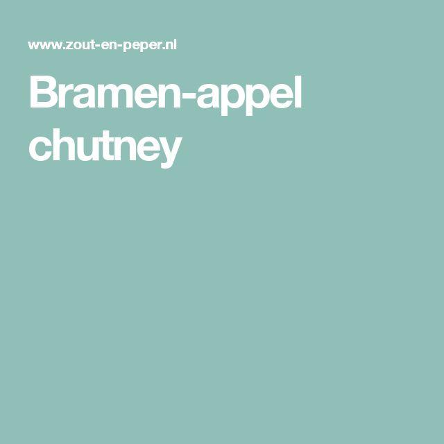 Bramen-appel chutney