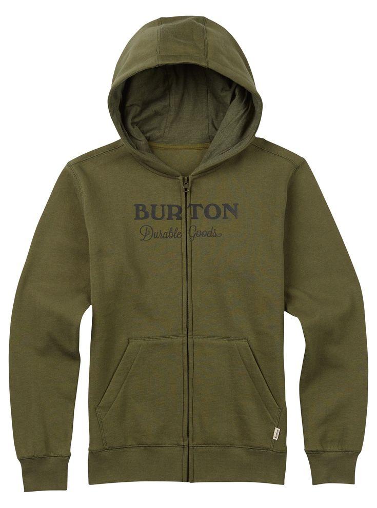 Boys' Burton Durable Goods Full-Zip Hoodie
