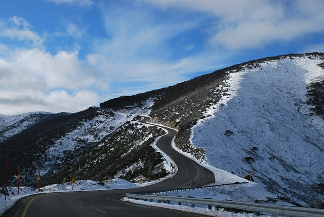 Great Alpine Road, Mt. Hotham by phunnyfotos, via Flickr