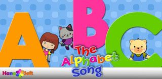 "Let's sing ""The Alphabet Song"" together."