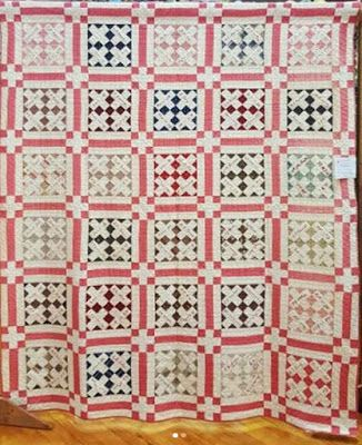 Soldier's Memorial Quilt from Farina, Illinois