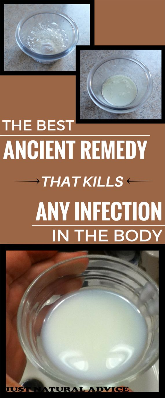 THE BEST ANCIENT REMEDY THAT KILLS ANY INFECTION IN THE BODY
