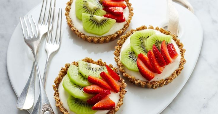 There's no need to miss out on cheesecake with this healthier, no-bake recipe.
