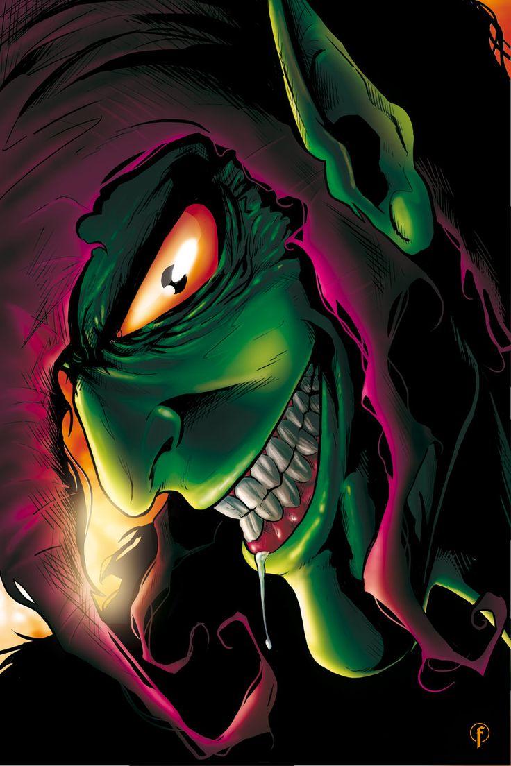 Green Goblin Color by Riccardo-Fasoli