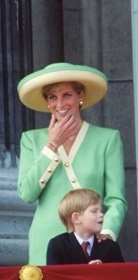 Diana With Her Little Prince Harry
