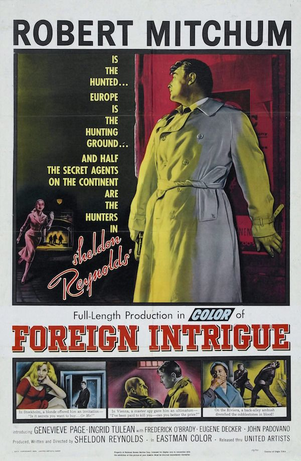 Spionaggio internazionale Sheldon Reynolds, 1956